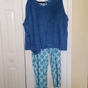 Soft fuzzy pajamas
